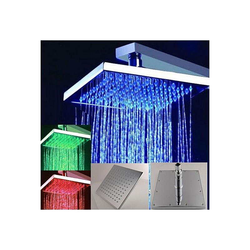 Тропический душ с подсветкой 20 см