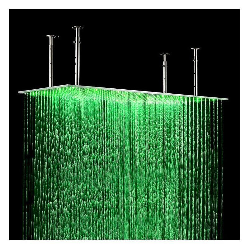 Тропический душ с подсветкой 40х80 см