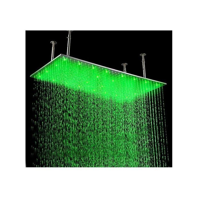Тропический душ с подсветкой 50х100 см