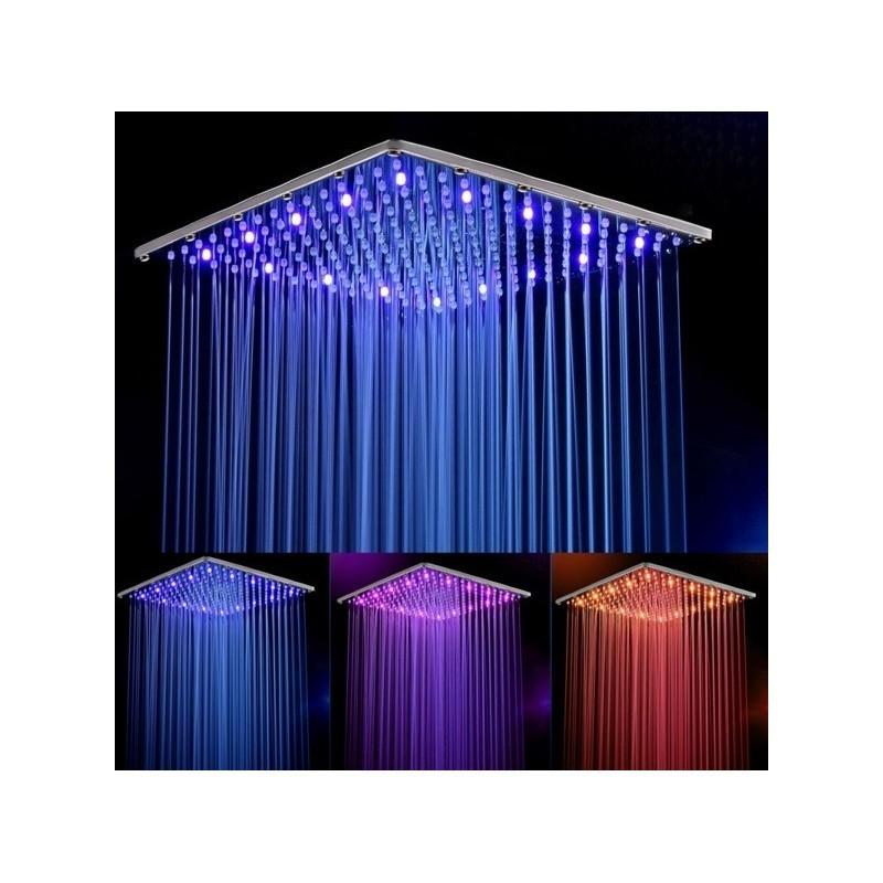 Тропический душ с подсветкой 25 см
