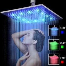 Тропический душ с подсветкой 30 см